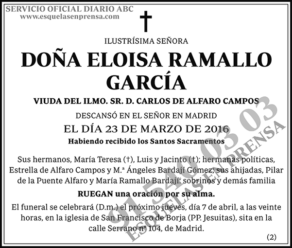 Eloisa Ramallo García